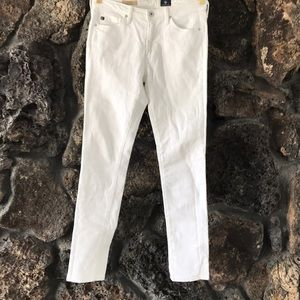 AG the Prima white Jeans